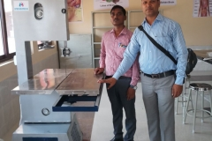 bone & meat cutting machine in Anatomy dept